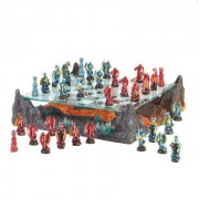 Fire River Dragon Chess Set, Home Locomotion