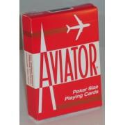 Aviator Deck Red (Poker Size)