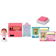 Forest character stamp collection of animal (furniture set and girl) Tobidase (japan import)