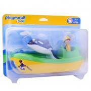 Barco de Pesca Com Baleia Playmobil Ref: 678
