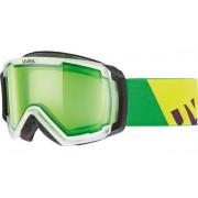 UVEX Ochelari de ski UVEX Apache II STIMU LENS ALERT - verde 55.0.624.0722