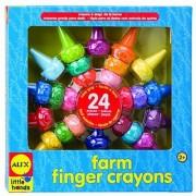 Alex Toys Little Hands Farm Finger Crayons