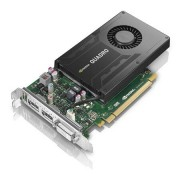 Lenovo Workstation Accessories NVIDIA Quadro K2200 4 GB DDR5 Dual-Link DVI-I, two-DisplayPort Graphics Card by ThinkStation