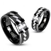Zig Zag Inel Verigheta din Otel Inox RS-433