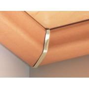 PARADOR Innenecken für Deckenabschlussleisten DAL 1, Gold-Optik