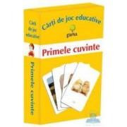 Primele cuvinte - Carti de joc educative
