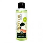 Body oil met limoen geur