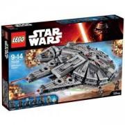 Конструктор ЛЕГО СТАР УОРС - кораб на хилядолетието, LEGO Star Wars, 75105