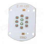 30W 10-Cree-XP-E LED 1000lm Red + Blue Plant Grow Light Module - White (22~26V)