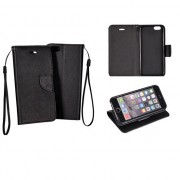 Book Case Fancy Bcf Pour Sony Xperia M4 Aqua Black