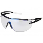 Alpina Eye-5 Shield VLM+ black matt/blue mirror 2017 Brillen