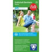 Fietskaart 21 Twente - Grafschaft Bentheim | Falk