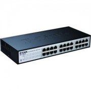 D-Link 24-port 10/100/1000 EasySmart Switch - DGS-1100-24