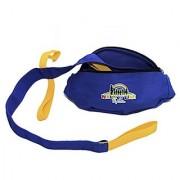 WalknLine Walk n Line (Short )Toddler Walking Rope /Leash With Shoulder / Waist Carry Belt Bag - Suitable For 6 Children