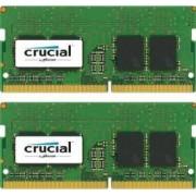 Kit Memorie Laptop Crucial 2x8GB DDR4 2400MHz CL17
