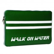 Walk On Water Boarding Sleeve 11 - кожен калъф за преносими компютри до 11 инча (зелен)