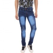 aarzu style Men's Blue Boot Cut Jeans