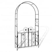 vidaXL Arco de Jardim para Porta
