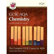 New Grade 9-1 GCSE Chemistry for AQA: Student Book with Online Edition by CGP Books