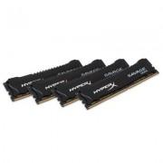 DDR4, KIT 32GB, 4x8GB, 2800MHz, KINGSTON HyperX Savage, CL14 (HX428C14SB2K4/32)