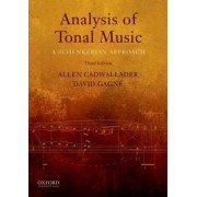 Analysis of Tonal Music by Allen Cadwallader
