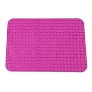 Placa Base Rosa Premium - Placa Base 38cm x 27cm - Compatible con todas las Marcas Mayores de Tamaño Grande - Clavijas Grandes solamente