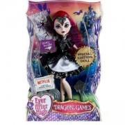 Кукла - Евър Афтър Хай - Драконови игри - Злата кралица тийнейджърка, Mattel, 171106