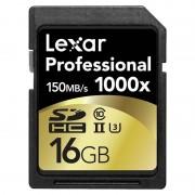 Cartão de Memória SDHC - LSD16GCRBEU1000 Professional 1000x - 16GB