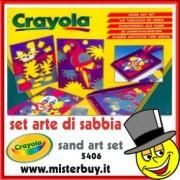CRAYOLA 5406 SET DISEGNI ARTISTICI CON LA SABBIA