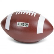 """Football Coin Counting Piggy Bank - Count Coins and Save Money - 9"""""""