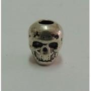 Skull Bead Silver