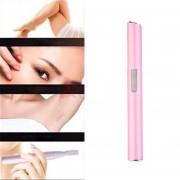 EY Electricidad Oído, Nariz Viaje Cuello Cuchilla Cuerpo Ceja Cabello Razor Trimmer Máquina De Afeitar Pink