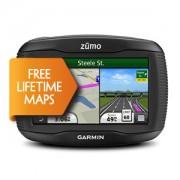 GPS Garmin ZUMO 350LM + Mapas Topo + 4 gb + Radares con voz