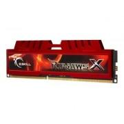 G.Skill Ripjaws-X - DDR3 - 16 Go : 4 x 4 Go - DIMM 240 broches - 1333 MHz / PC3-10666 - CL9 - 1.5 V - mémoire sans tampon - non ECC