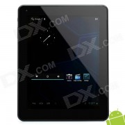 """""""JXD S9000 9.7"""""""" Capacitive Android 4.0 Tablet w/ WiFi / Camera / TF - Silver + Black (1.5GHz / 16GB)"""""""