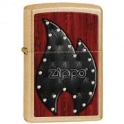 Zippo upaljač Leather Flame