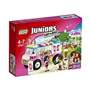 LEGO 10727 Juniors Emma's Ice Cream Truck Construction Set - Multi-Coloured