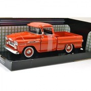 MOTOR MAX 1:24 AmericanClassics 1958 CHEVY APACHE FLEETSIDE PICKUP Motor Max 1:24 scale American Classics 1958 Chevy