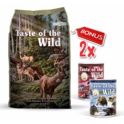 Taste Of The Wild Pine Forest - 12.7 Kg + 2 Conserve Taste of the Wild GRATIS