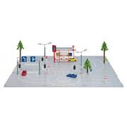 Siku 5501 - Play Set City Plastico Componibile