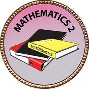 """Keepsake Awards Mathematics 2 Gold Award Pin """"Scholarship Studies Collection"""" 1 Inch Dia"""