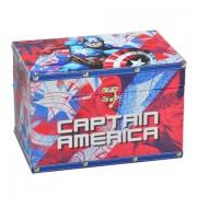 Caixa Organizadora Capitão América 16x24 cm