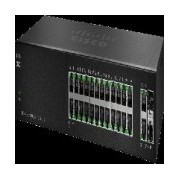 SWITCH - CISCO - SF112 - 24 PUERTOS - 10/100 MBPS - NO ADMINISTRABLE -2 PUERTOS SFP - RACK - QOS