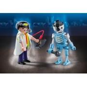 Playmobil 6844 Duo Pack - Inventeur Et Robot