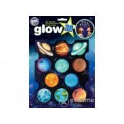Autocolant fosforescent Brainstorm Glow 3D Planete Mari