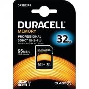 Duracell 32GB SDHC UHS-3 Speicherkarte (DRSD32PR)