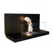 Radius Design - Wallflame I, Stahl schwarz