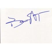 Keenen Ivory Wayans Autographed Index Card