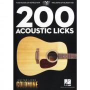 Hal Leonard - 200 Acoustic Licks DVD