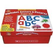 Alphabet Letters & Pictures Super Set by Scholastic Books